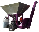 фото Машина для плющения зерна Murska W-Max 15F с элеватором