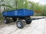 Прицеп тракторный самосвальный 2ПТСЕ-6,5 (усиленные оси ,тормоза на 2 оси, шина КФ-105)
