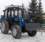 Лесохозяйственный трактор